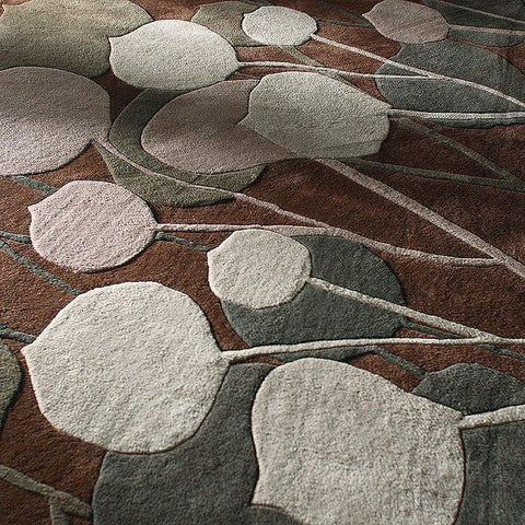 Pumice Stone in Slate Hand-Tufted Wool Area Rug