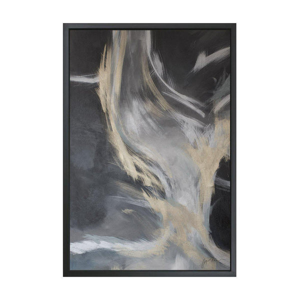 Storm #1 Framed Painted Canvas-Canvas-Inhabit
