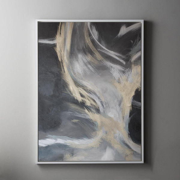 Storm #1 Framed Art Canvas-Canvas-Inhabit