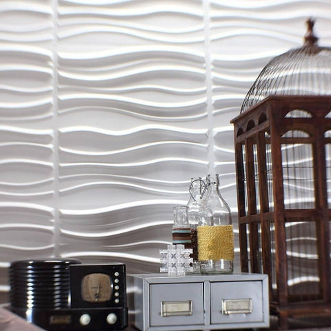 Stitch Hanging Wall Flat System - 3D Wall Panels