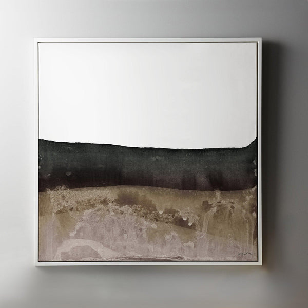 Upper Mantle 2 Framed Painted Canvas-Canvas-Inhabit