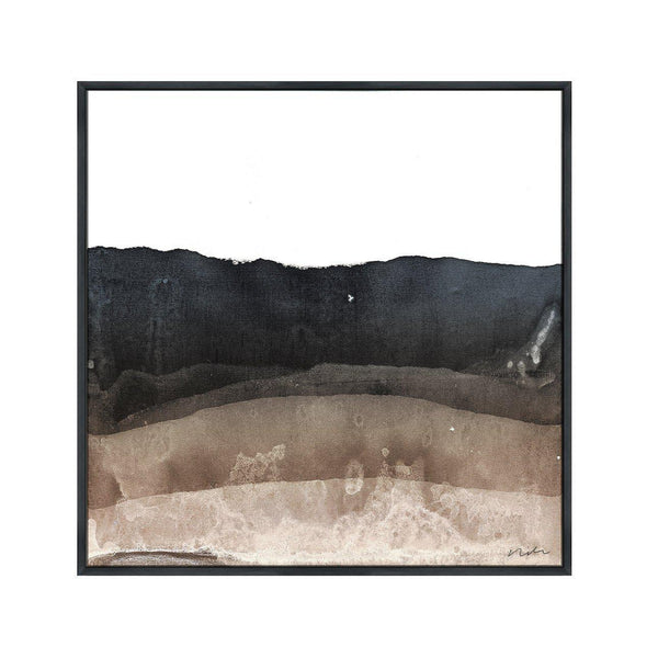 Upper Mantle 1 Framed Painted Canvas-Canvas-Inhabit