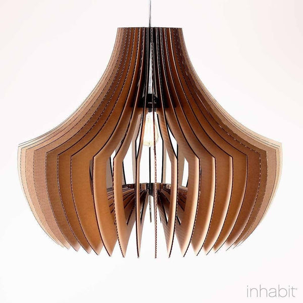 Corrulight Ceiling Lighting - Adler Natural Sculptural Pendant Light - 1 - Inhabit
