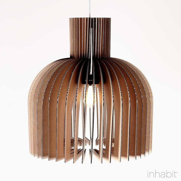 Amien Natural Sculptural Pendant Light - Corrulight Ceiling Lighting - 1 - Inhabit