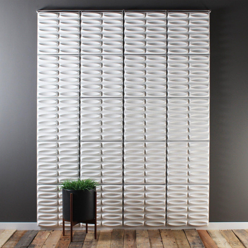 Hanging Wall Flat Systems - Architect Hanging Paintable Wall Flat System - 3D Wall Panels - 3 - Inhabit