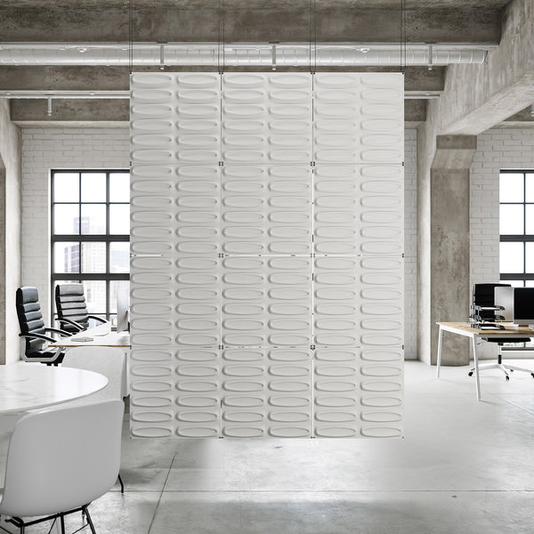 Hanging Wall Flat Systems - Architect Hanging Paintable Wall Flat System - 3D Wall Panels - 1 - Inhabit