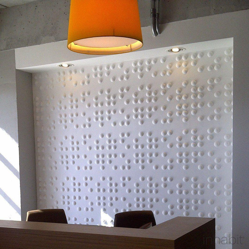 Wall Flats - 3D Wall Panels - Braille 3D Wall Flats - 9 - Inhabit