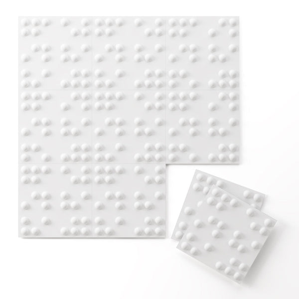 Braille Paint Ready Wall Flats - 3D Wall Panels - Wall Flats - 3D Wall Panels - 2 - Inhabit