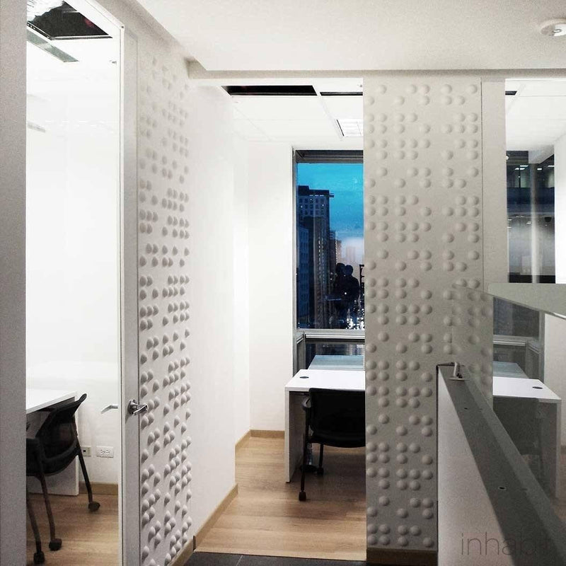 Wall Flats - 3D Wall Panels - Braille 3D Wall Flats - 13 - Inhabit