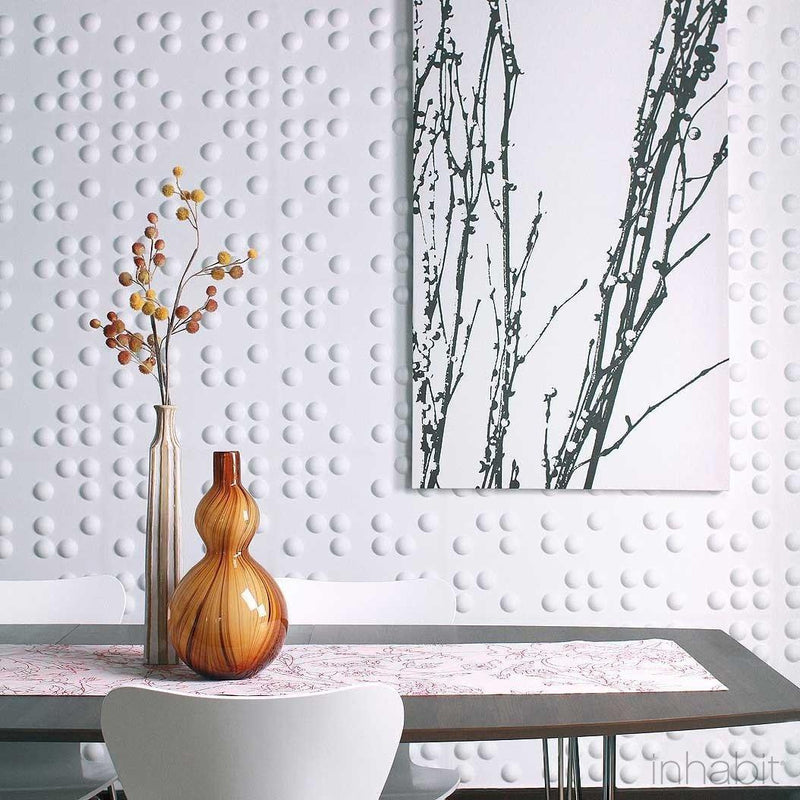 Wall Flats - 3D Wall Panels - Braille 3D Wall Flats - 5 - Inhabit