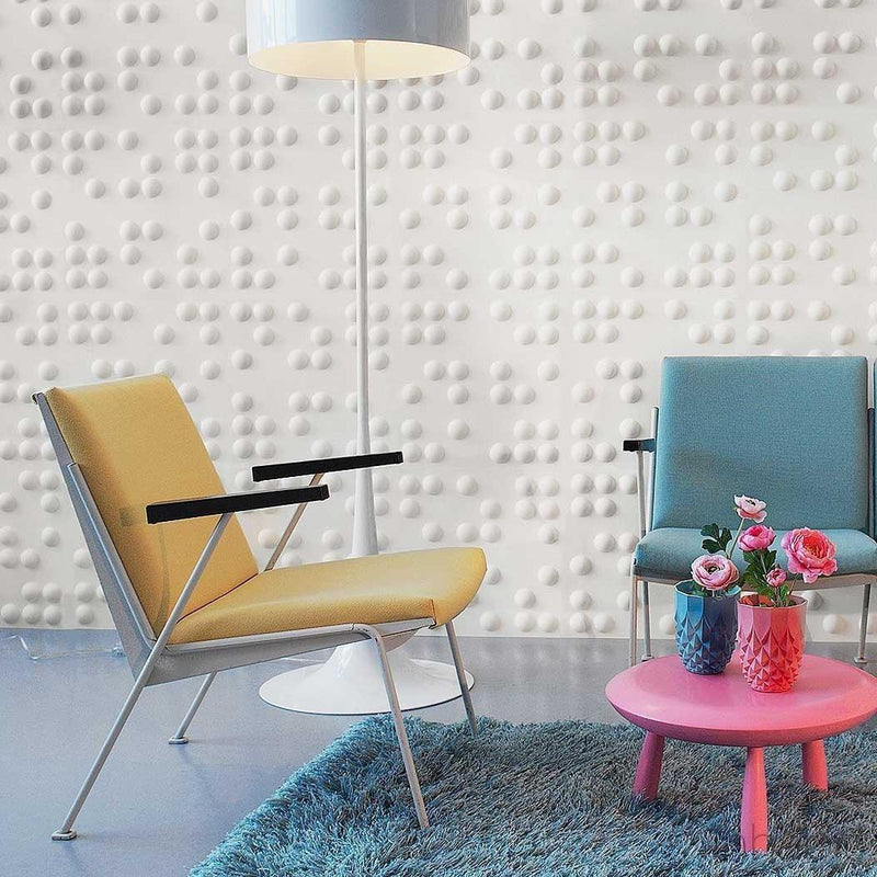 Wall Flats - 3D Wall Panels - Braille 3D Wall Flats - 6 - Inhabit
