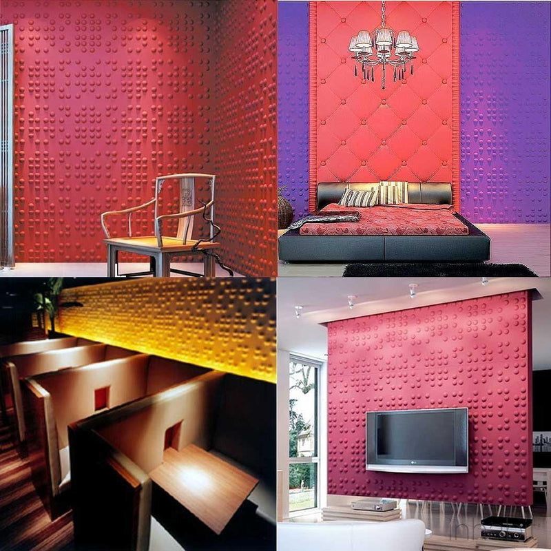 Wall Flats - 3D Wall Panels - Braille 3D Wall Flats - 20 - Inhabit