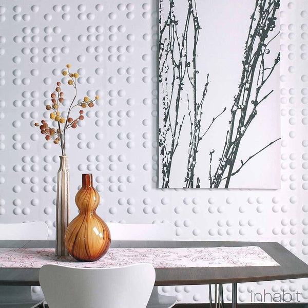Braille Wall Flats - 3D Wall Panels - - Wall Flats - 3D Wall Panels - Inhabitliving.com - Inhabit - 1