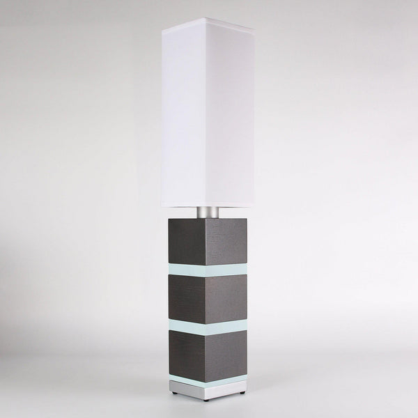 Builtby Table Lamps - Builtby Chunk Table Lamp in Charcoal - 2 - Inhabit