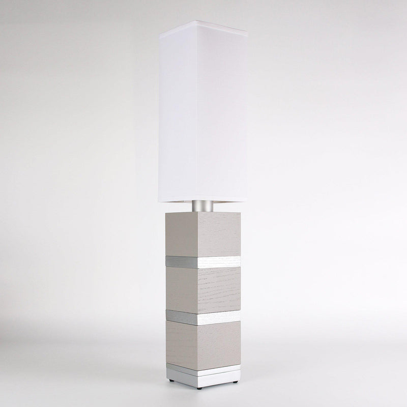 Builtby Table Lamps - Builtby Chunk Table Lamp in Gray - 6 - Inhabit