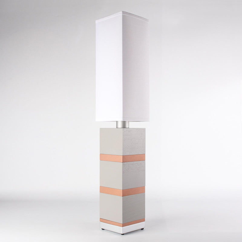 Builtby Table Lamps - Builtby Chunk Table Lamp in Gray - 4 - Inhabit