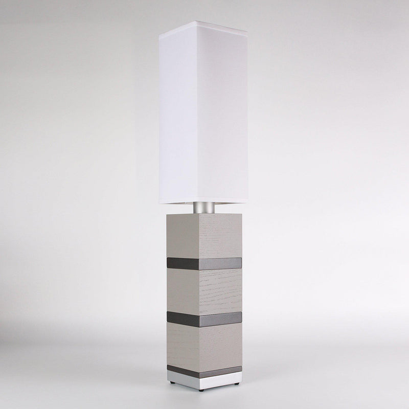 Builtby Table Lamps - Builtby Chunk Table Lamp in Gray - 2 - Inhabit