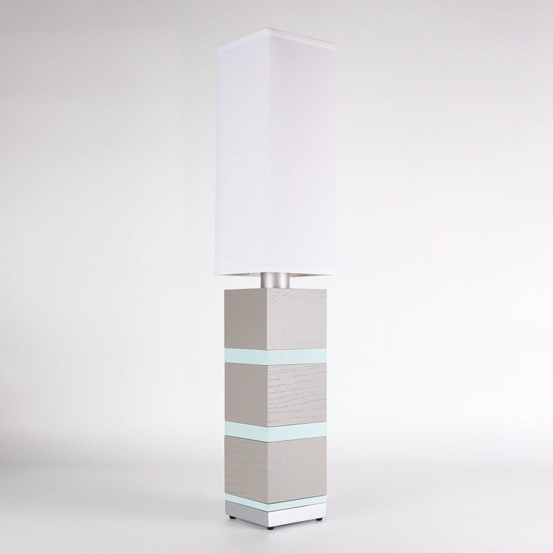 Builtby Table Lamps - Builtby Chunk Table Lamp in Gray - 3 - Inhabit