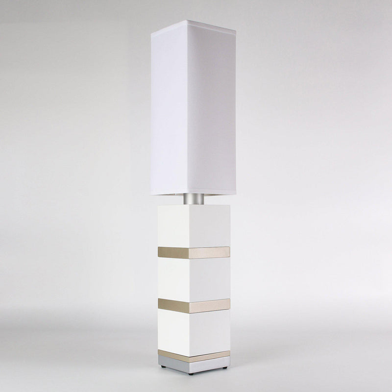 Builtby Table Lamps - Builtby Chunk Table Lamp in Matte White - 3 - Inhabit