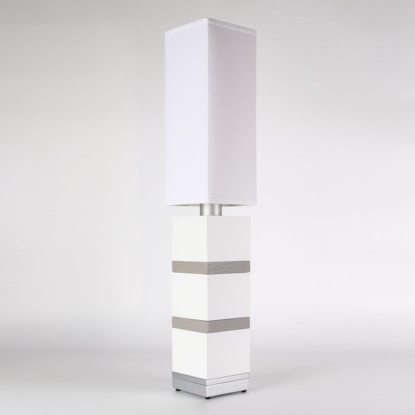 Builtby Table Lamps - Builtby Chunk Table Lamp in Matte White - 1 - Inhabit