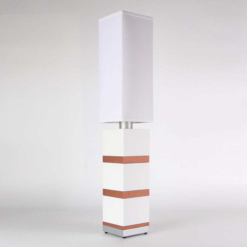 Builtby Table Lamps - Builtby Chunk Table Lamp in Matte White - 4 - Inhabit