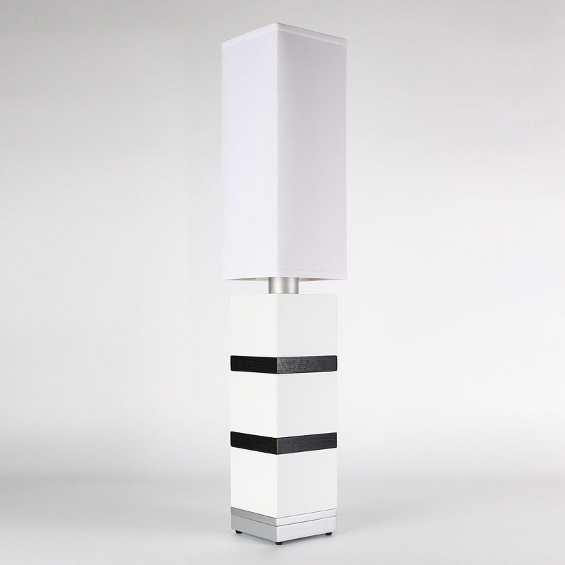 Builtby Table Lamps - Builtby Chunk Table Lamp in Matte White - 6 - Inhabit