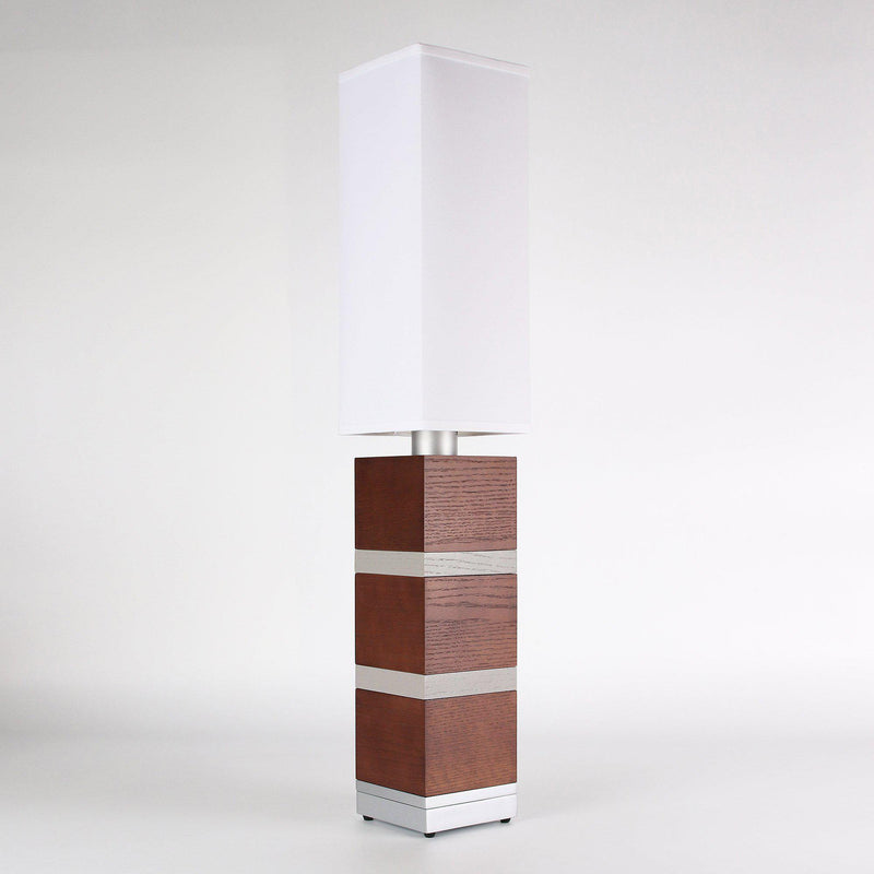 Builtby Table Lamps - Builtby Chunk Table Lamp in Walnut - 5 - Inhabit