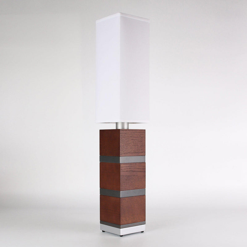 Builtby Table Lamps - Builtby Chunk Table Lamp in Walnut - 1 - Inhabit