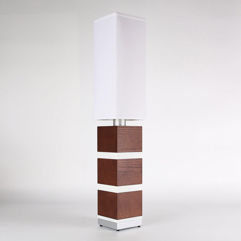 Builtby Table Lamps - Builtby Chunk Table Lamp in Walnut - 6 - Inhabit
