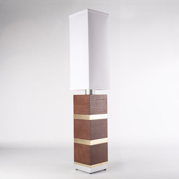 Builtby Table Lamps - Builtby Chunk Table Lamp in Walnut - 2 - Inhabit