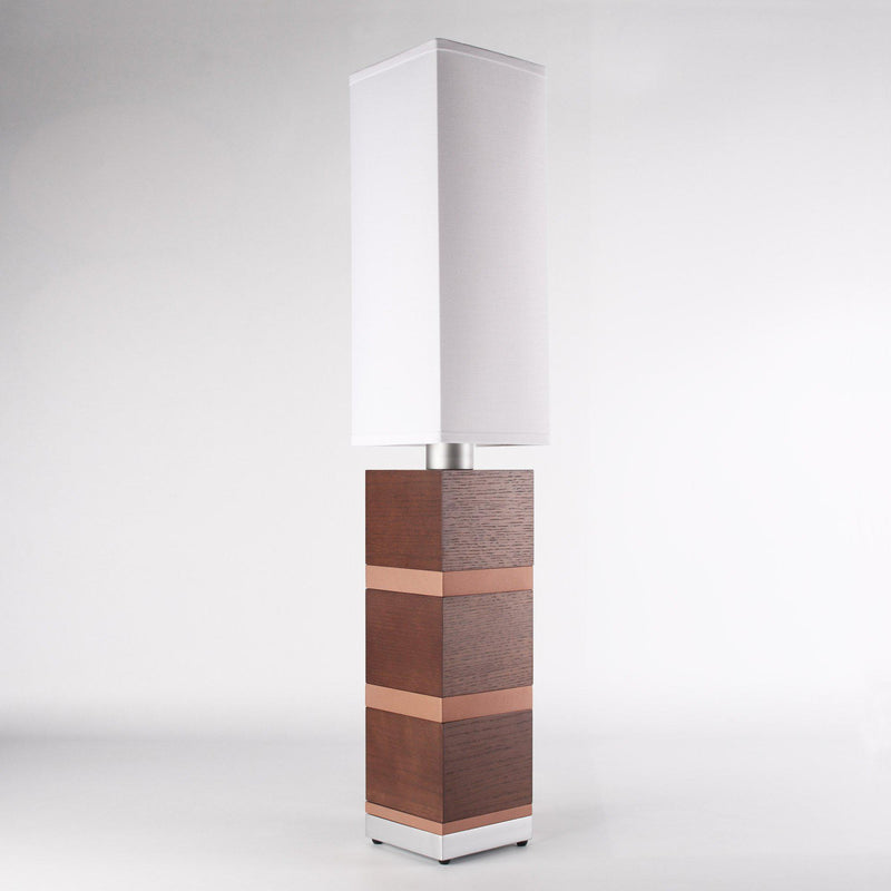 Builtby Table Lamps - Builtby Chunk Table Lamp in Walnut - 4 - Inhabit