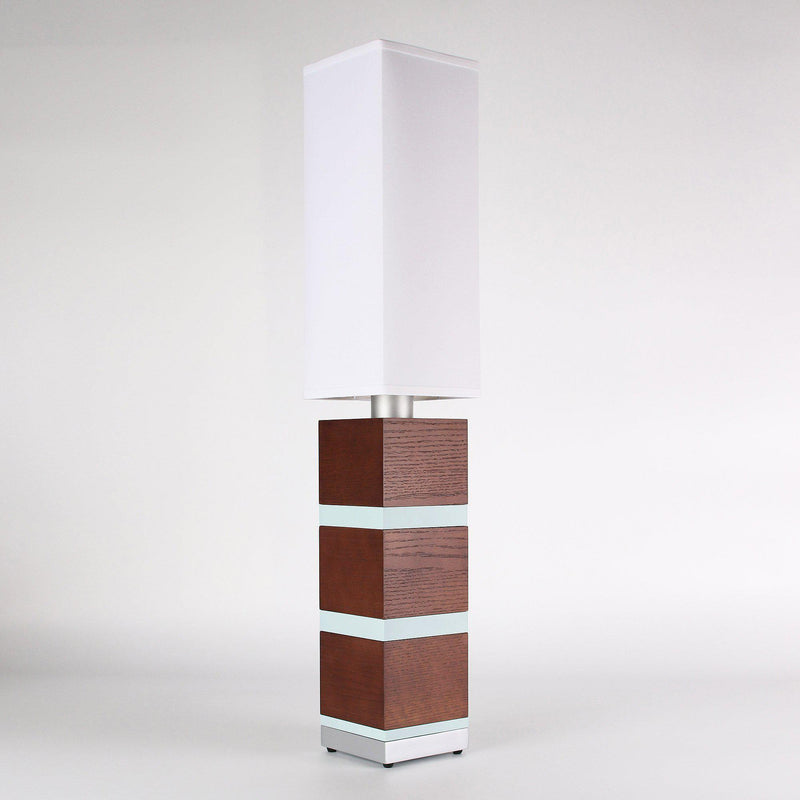 Builtby Table Lamps - Builtby Chunk Table Lamp in Walnut - 3 - Inhabit