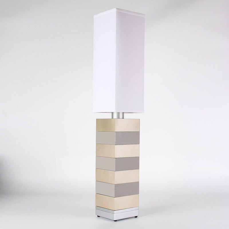 Builtby Table Lamps - Builtby Even Steven Table Lamp in Gray - 1 - Inhabit