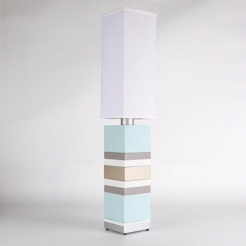 Builtby Table Lamps - Builtby Stack Table Lamp in Cloud - 3 - Inhabit