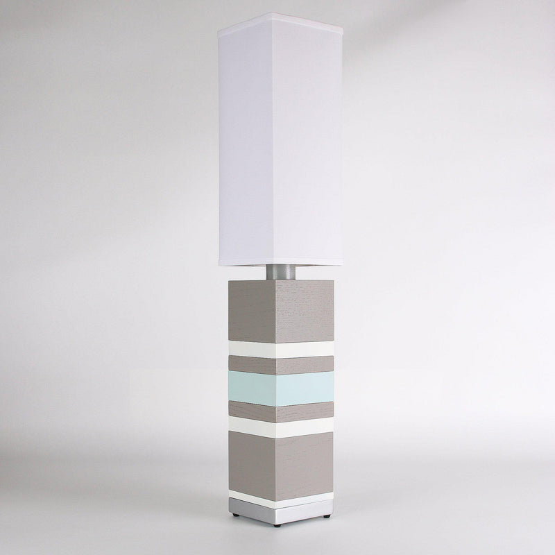 Builtby Table Lamps - Builtby Stack Table Lamp in Gray - 4 - Inhabit