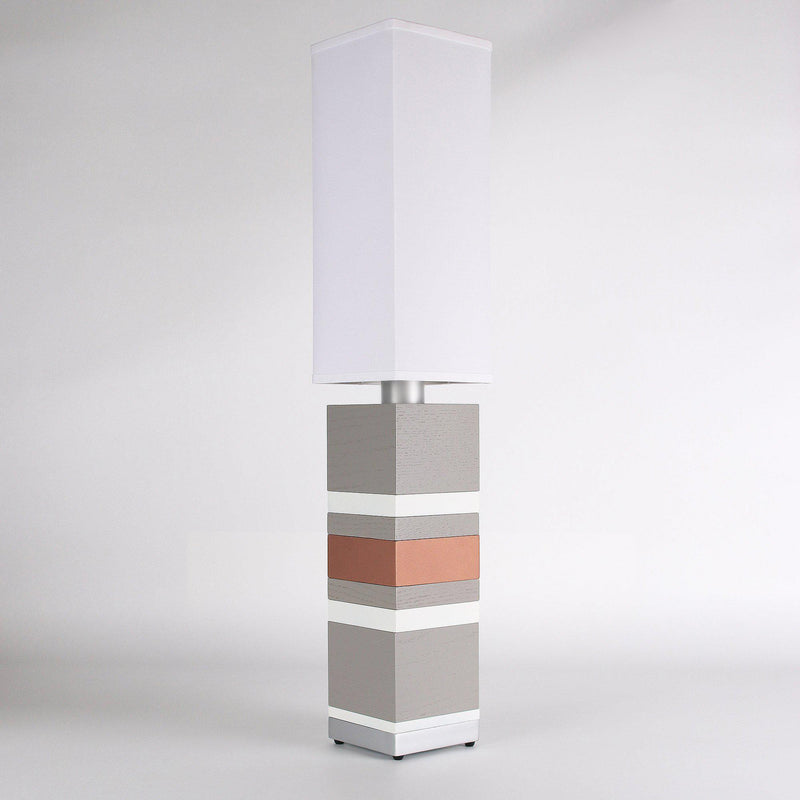 Builtby Table Lamps - Builtby Stack Table Lamp in Gray - 3 - Inhabit