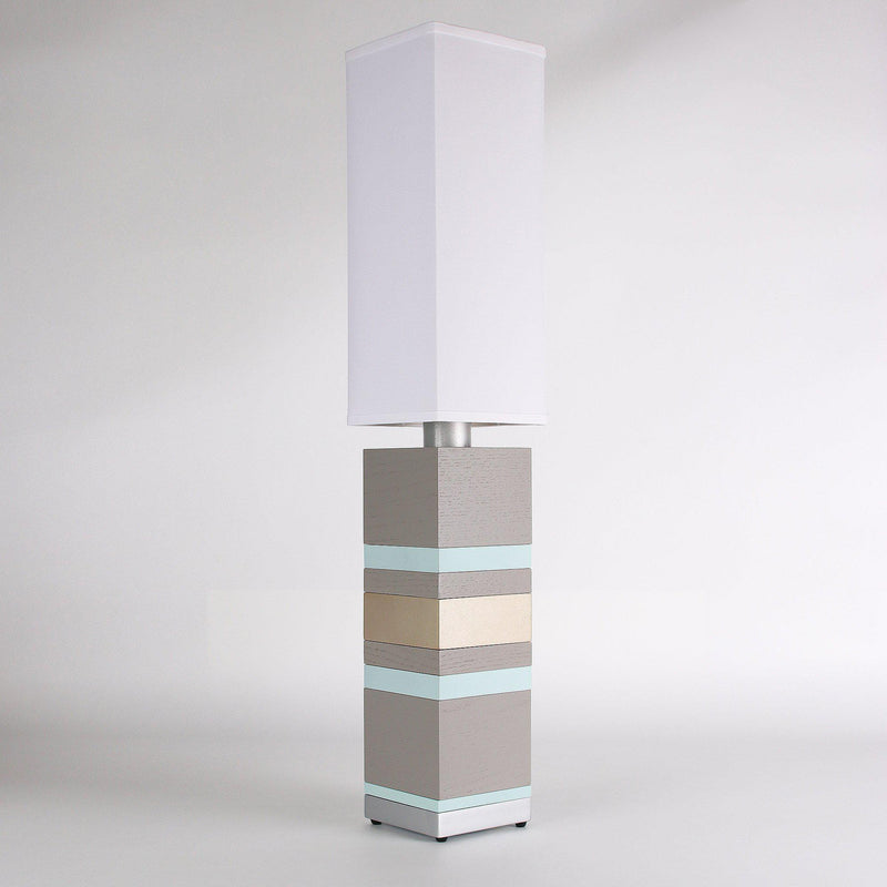 Builtby Table Lamps - Builtby Stack Table Lamp in Gray - 7 - Inhabit