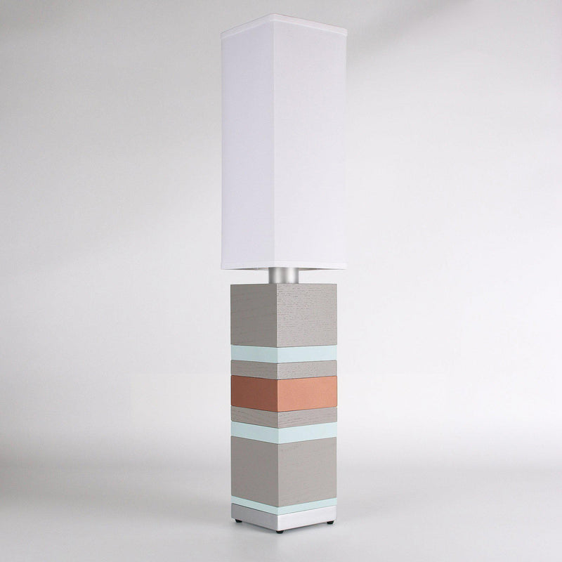 Builtby Table Lamps - Builtby Stack Table Lamp in Gray - 8 - Inhabit