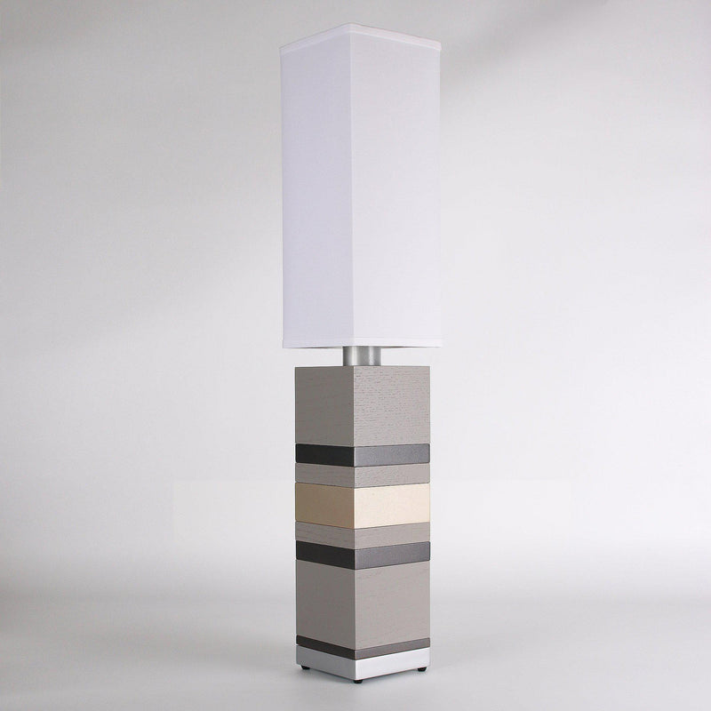 Builtby Table Lamps - Builtby Stack Table Lamp in Gray - 5 - Inhabit