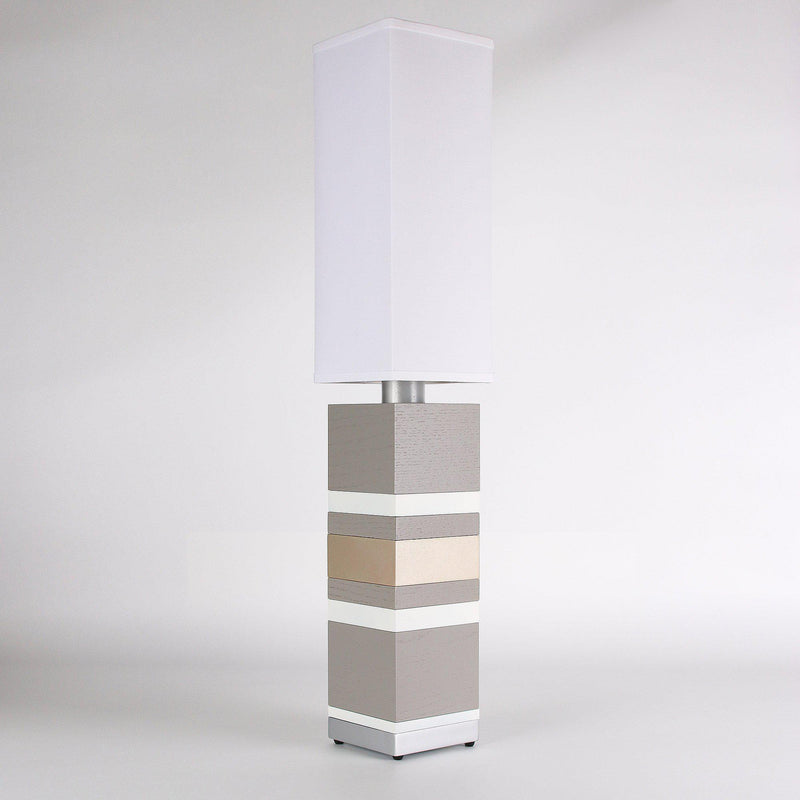 Builtby Table Lamps - Builtby Stack Table Lamp in Gray - 1 - Inhabit
