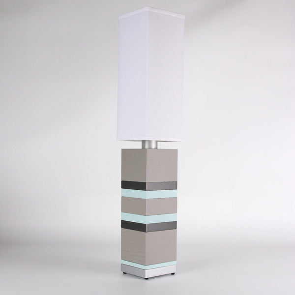 Builtby Table Lamps - Builtby Stack Table Lamp in Gray - 2 - Inhabit