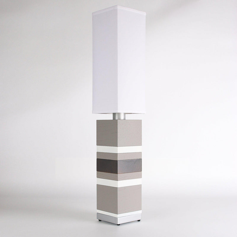 Builtby Table Lamps - Builtby Stack Table Lamp in Gray - 6 - Inhabit