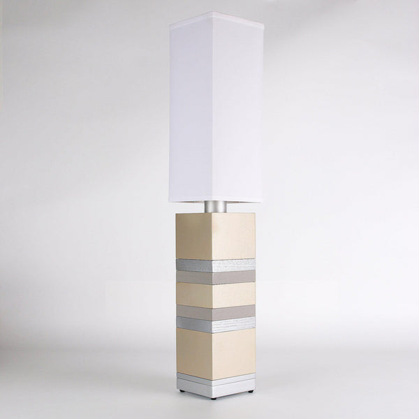 Builtby Stack Table Lamp in Matte Gold - Builtby Table Lamps - 1 - Inhabit
