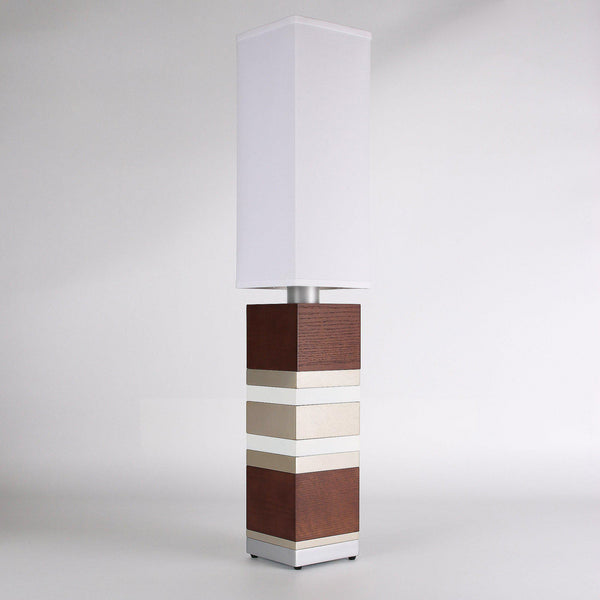 Builtby Table Lamps - Builtby Stack Table Lamp in Walnut - 1 - Inhabit