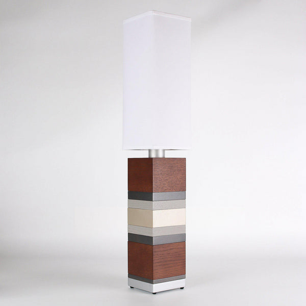 Builtby Table Lamps - Builtby Stack Table Lamp in Walnut - 2 - Inhabit