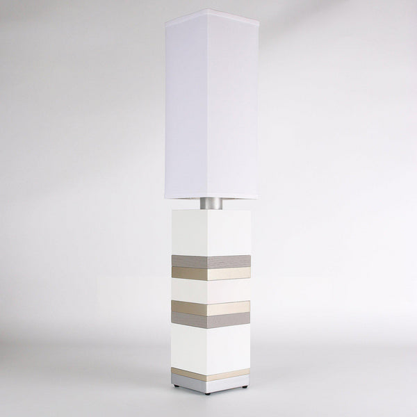 Builtby Table Lamps - Builtby Stack Table Lamp in White - 1 - Inhabit