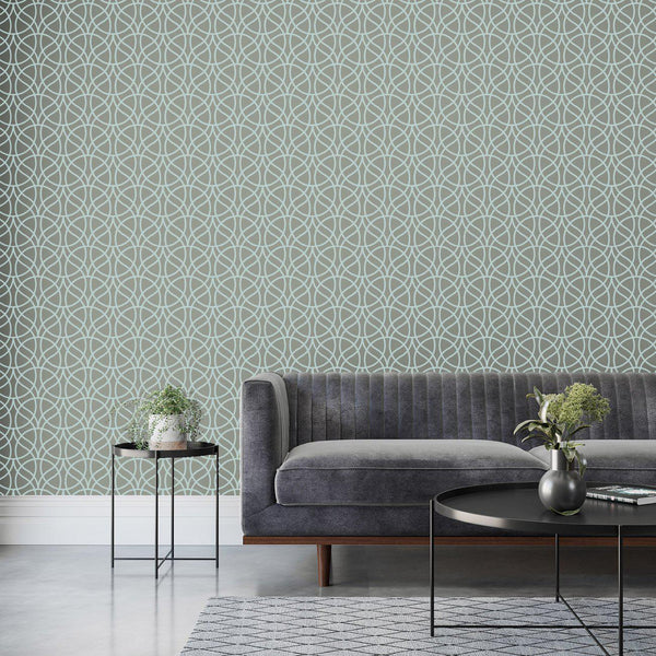Wallpaper - Peel and Stick Wallpaper - Commercial Wallpaper - Canopy Bespoke Wallpaper - 1 - Inhabit