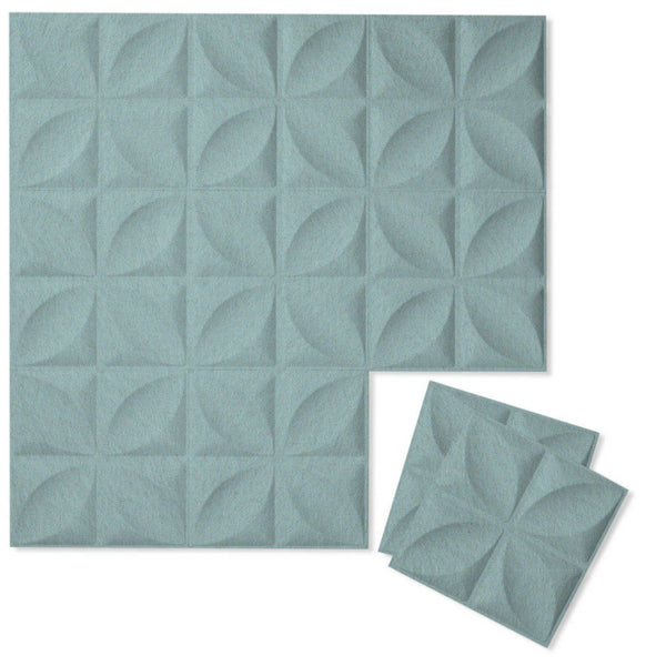 Felt 3D Wall Flats - Acoustic Panels - Chrysalis 3D PET Felt Wall Flats - 1 - Inhabit