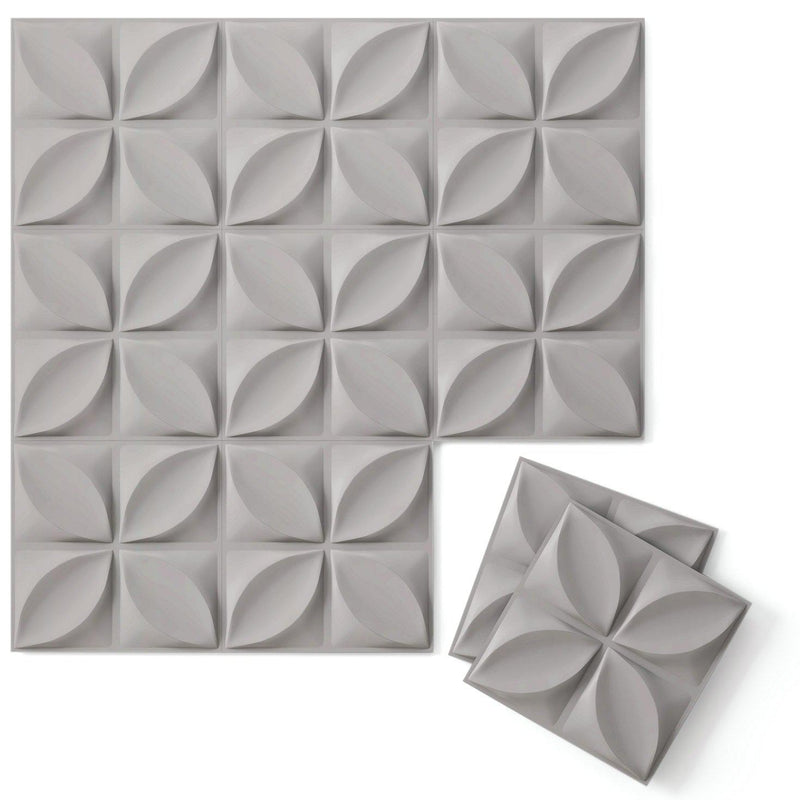 Luxe Supermatte Wall Flats - 3D Wall Panels - Chrysalis 3D Supermatte Wall Flats - 4 - Inhabit