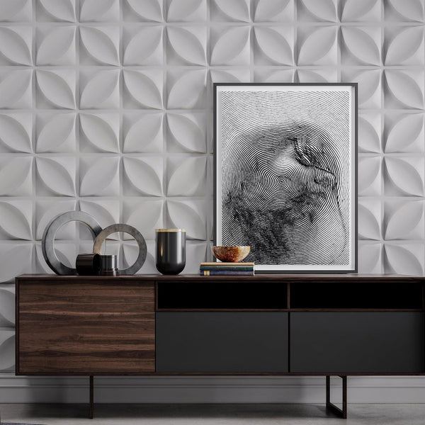 Luxe Supermatte Wall Flats - 3D Wall Panels - Chrysalis 3D Supermatte Wall Flats - 2 - Inhabit